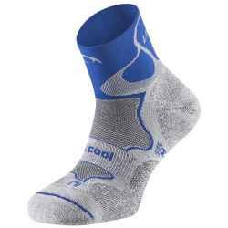 Calcetines Lurbel Trail Track - Gris / Azul