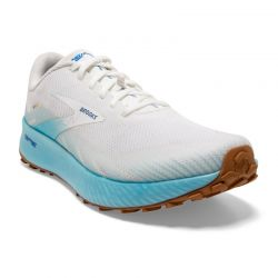 Brooks - zapatillas brooks catamount 42 4909 - white/iced aqua/blue