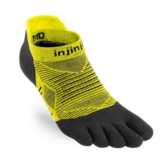 CALCETINES INJINJI RUN LIGHTWEIGHT NO-SHOW - NEGRO