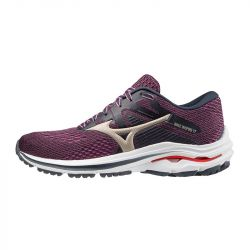 Mizuno - zapatillas mizuno wave inspire 17 mujer 39 5472 - india ink/platinum gold/ignition