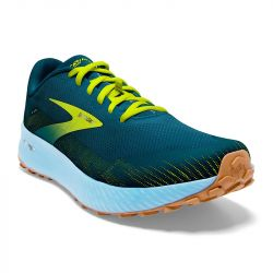 Brooks - zapatillas brooks catamount 42.5 4909 - blue / lime / biscuit